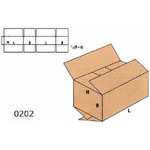Cardboard Boxes FEFCO - 0202