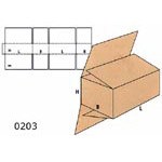 Cardboard Boxes FEFCO - 0203