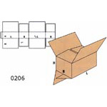 Cardboard Boxes FEFCO - 0206