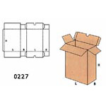 Cardboard Boxes FEFCO - 0227