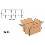 Cardboard Boxes FEFCO - 0231