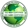 Certificate ISO 9001, ISO 14001