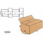Cardboard Boxes FEFCO - 0204