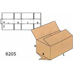 Cardboard Boxes FEFCO - 0205